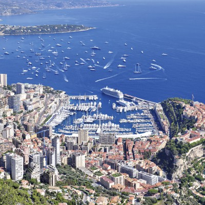 N°6Monaco & Perched Medieval Villages